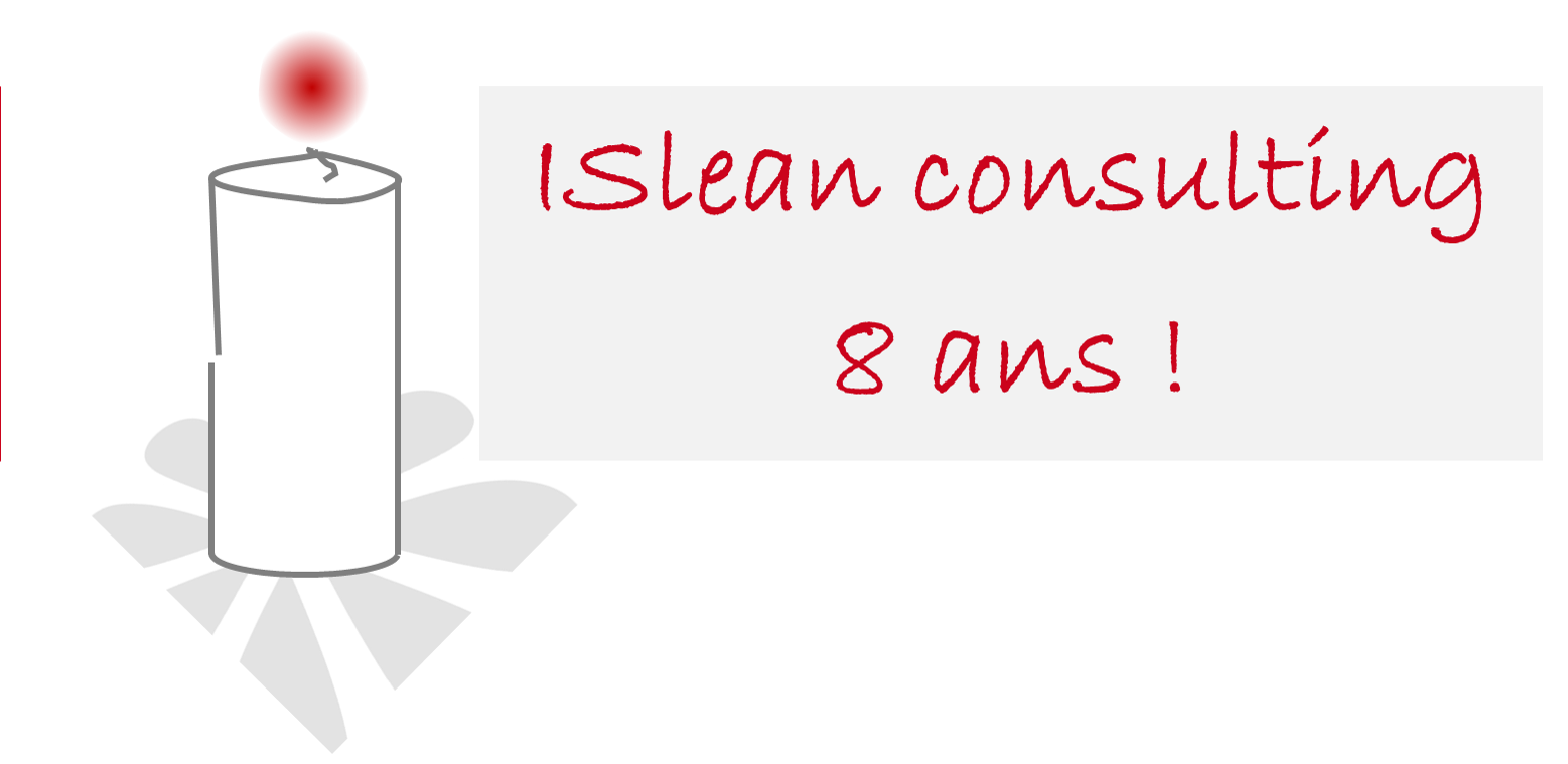 Bougies ISlean consulting 8 ans