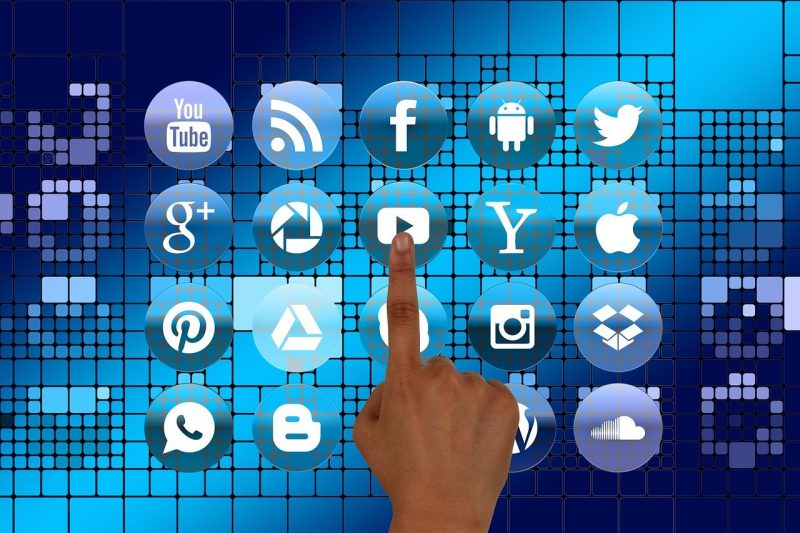 Logos de géants du net