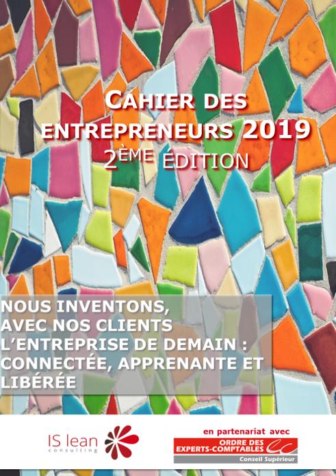 Cahier entrepreneurs 2019 - couverture