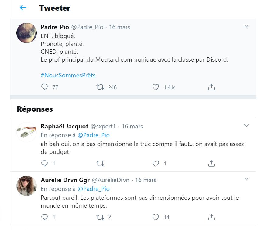 Discord sur Twitter