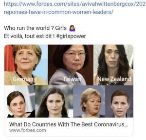 Post de l'article de Forbes sur les réseaux sociaux