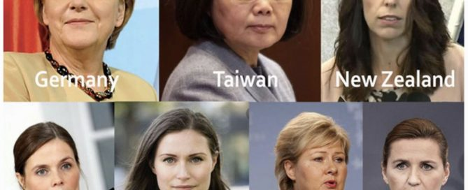 L'article de Forbes - What Do Countries With The Best Coronavirus Responses Have In Common? Women Leaders