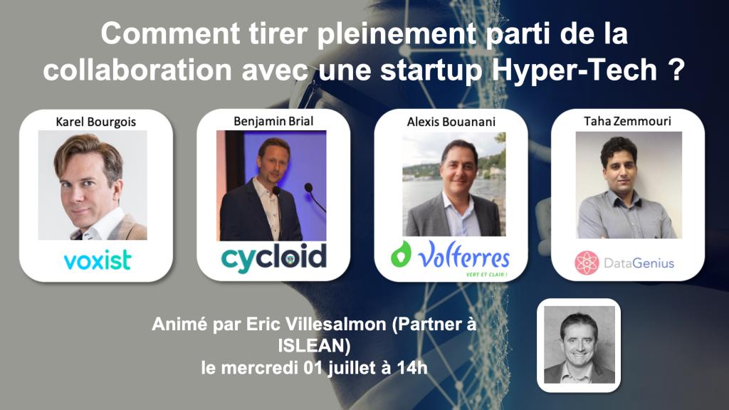 Webinaire startup