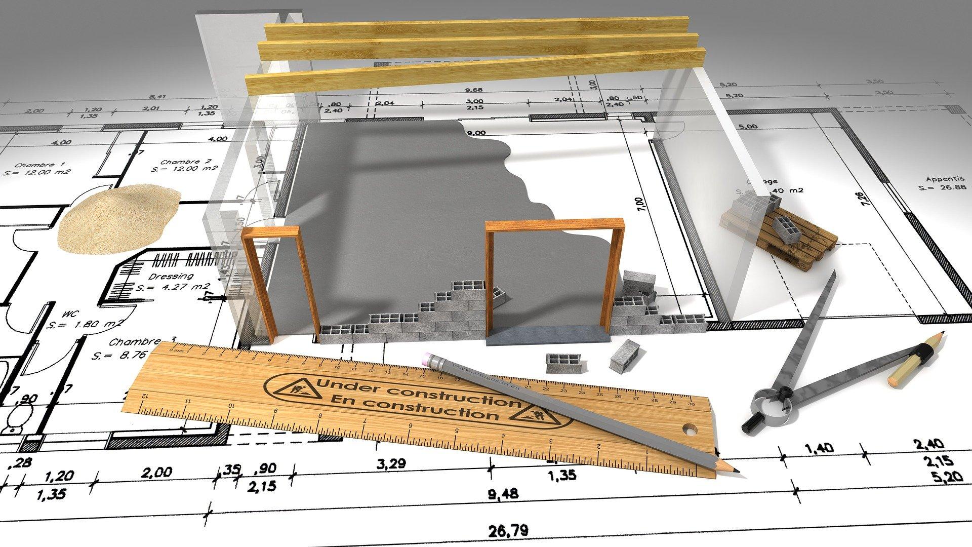 Illustration construction de service