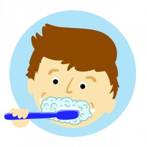 lavage de dents